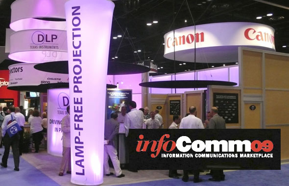 DLP Booth at Infocomm 2009