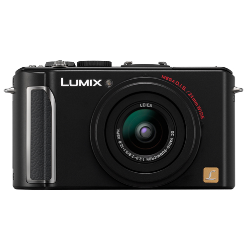 Now available in more-desirable black body--just like the Leica Digilux.
